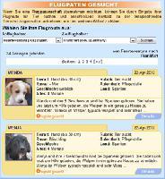 Flugpatenvermittlung bei Tiervermittlung.de