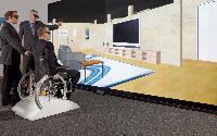 Architektur: Barrierefreies Bauen durch 3D-Rollstuhlsimulation von Fraunhofer (mit Bild und Video)