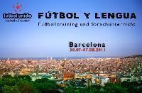 Fußball und Spanisch in Barcelona 2011