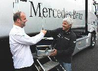 AMG Mercedes DTM-Werksfahrer starten mit Airnergy Spirovital Sauerstoff Therapie