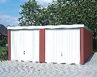 Fertiggaragen von Exklusiv-Garagen: 120 Standardgrössen für universell nutzbare Gebäude