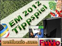 Tippen und gewinnen mit Wettbasis  -  die Sportwetten-Informationsplattform veranstaltet ein sehr attraktives EM Tippspiel