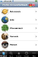 App der Woche bei iTunes: Ein Bild für jedes Wort - die neue Bildwörterbuch-App für Deutsch und Englisch von PONS