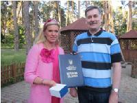 ETN-Botschafterin Maja Prinzessin von Hohenzollern wird mit höchster Auszeichnung der Stadt Kiew geehrt