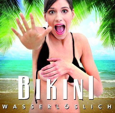 Der Bikini, der sich auflöst - Nach drei Minuten im Wasser sind nur noch Einzelteile übrig