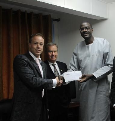 Jonas Köller: S&K Gruppe unterstützt Bestrebungen für Frieden und Wohlstand in Gambia