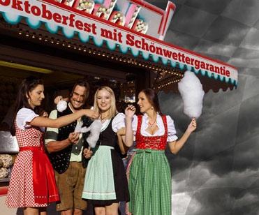 Trachtenmode-Shop gibt Schönwettergarantie für das Oktoberfest