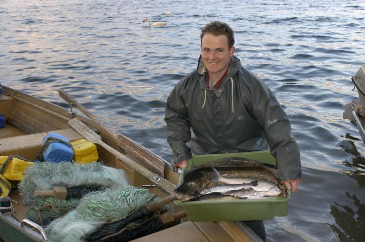 Fischers Fritz tischt Felchen auf