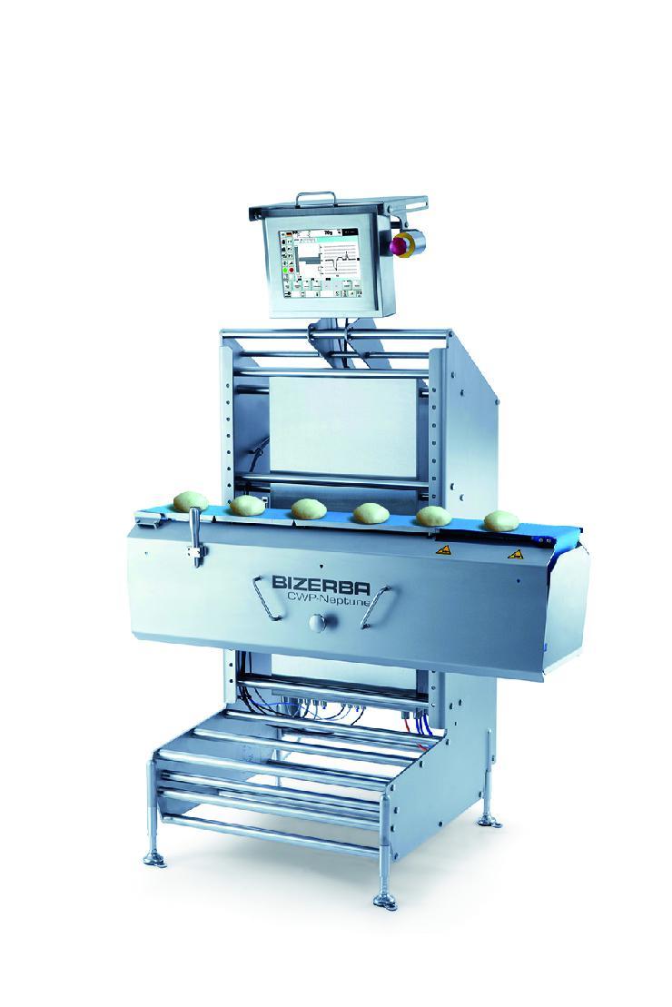 Bizerba Kontrollwaagen für die industrielle Backwarenherstellung