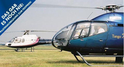 Hubschrauber-Schein bei Heli Transair EAS - erstmals in Europa mit Videoanalyse