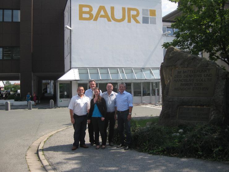 Wiederholte Zertifizierung: Drei Unternehmen der Baur-Gruppe lassen ihr Umweltmanagementsystem erfolgreich überprüfen