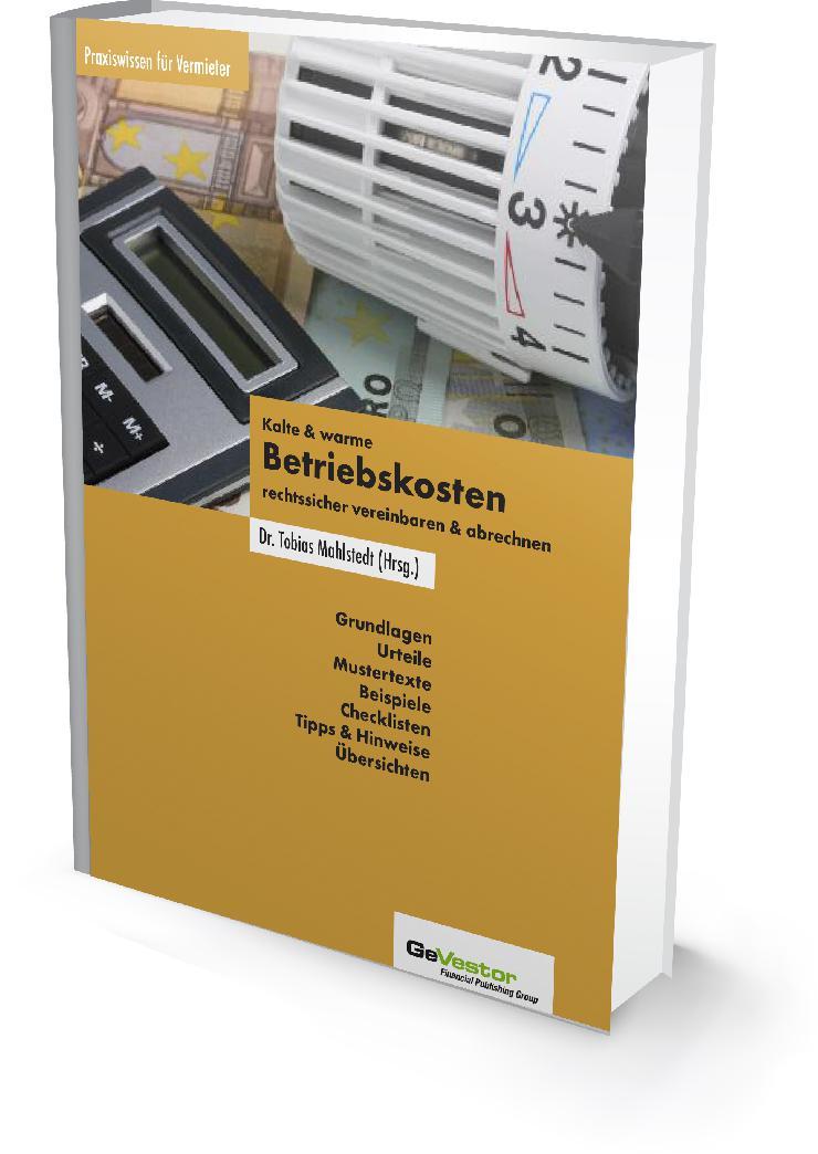 Die rechtssichere Betriebskostenabrechnung 2012