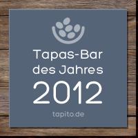Internetportal tapito.de präsentiert die Tapas-Bar des Jahres 2012