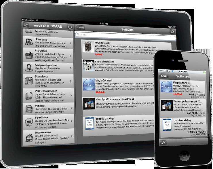 YourApp-Framework in neuer Version nun mit vereinfachter Warengruppen und Artikeldaten Verarbeitung.