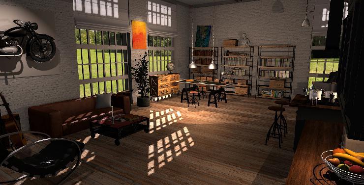 pressenachricht roomeon entwickelt zusammen mit dem hpi potsdam zukunftsweisende 3d anwendungen. Black Bedroom Furniture Sets. Home Design Ideas