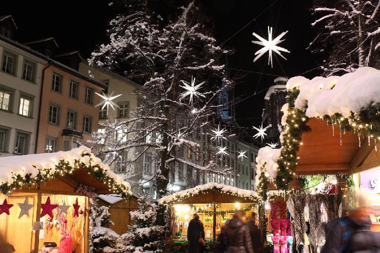 Advent in der Schweizer Sternenstadt