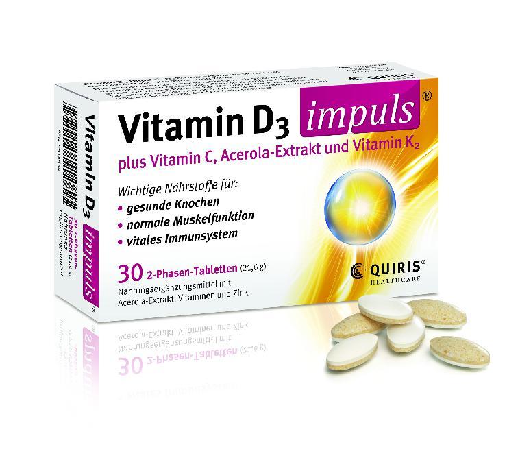 Neu in der Apotheke: Vitamin D3 Impuls
