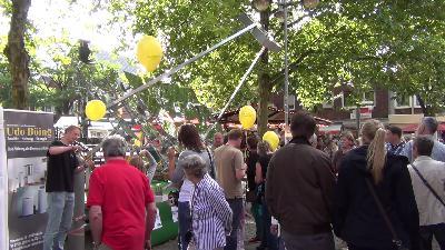 Vorstellung des LinearSpiegels beim Stadtlohner Herbst und bei den Energietagen in Müllheim