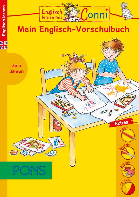 Englisch lernen mit Conni - dem Liebling aller Mädchen: Pons-Mitmachbücher für Kinder ab fünf und sieben Jahren