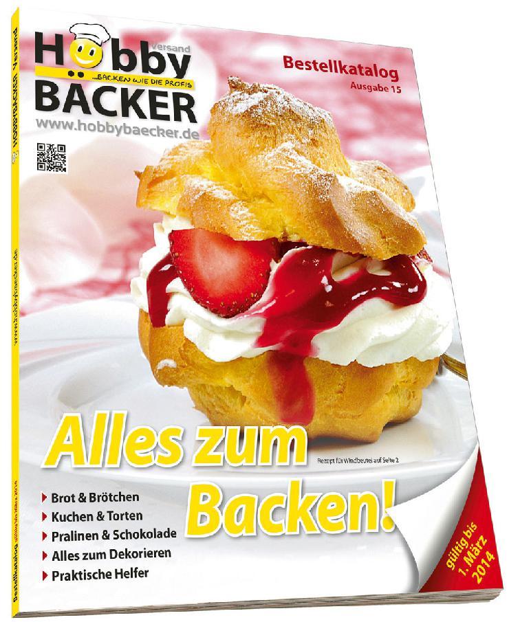 Der neue Hobbybäcker-Katalog ist da!