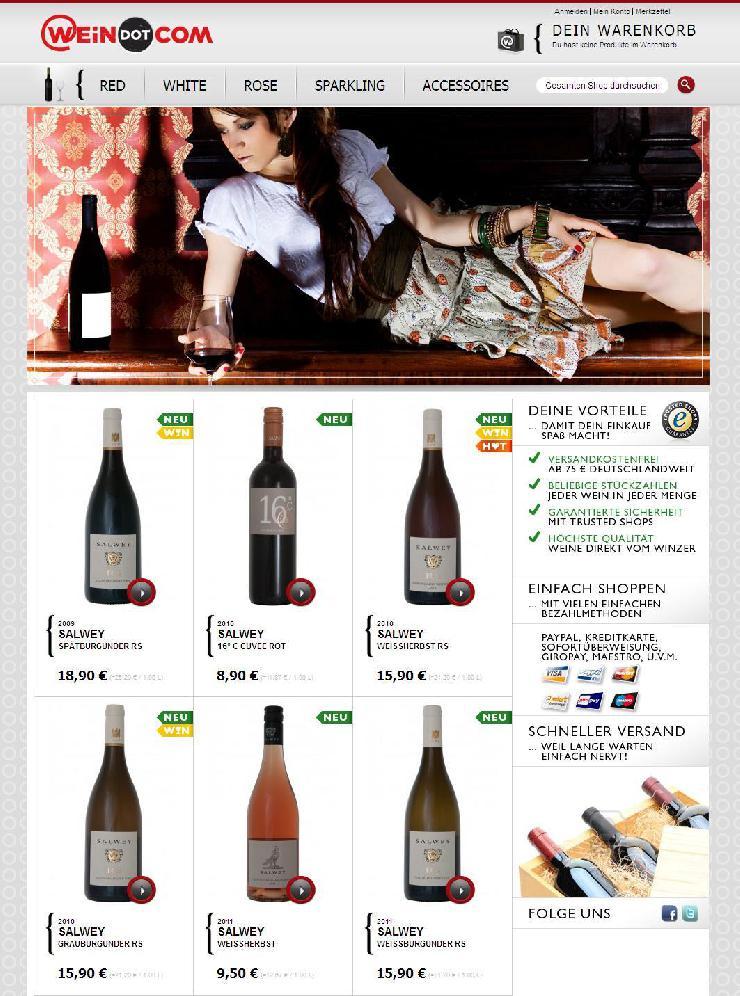 WEiNDOTCOM Weinversand erweitert Sortiment mit Premium Weinen von Salwey