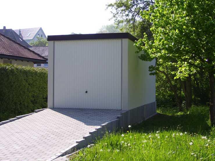 pressenachricht genug platz so ist das parken vor einer fertiggarage von garagenrampe erlaubt. Black Bedroom Furniture Sets. Home Design Ideas
