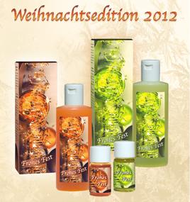 Weihnachtsbad Edition 2012: Wellness-Weihnachtsgeschenke