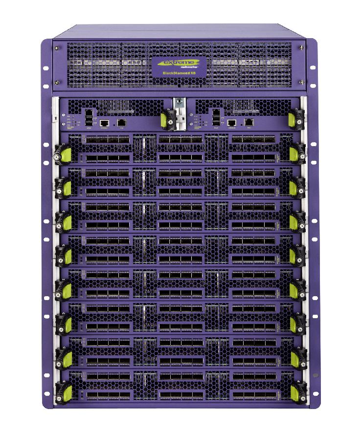 Extreme Networks BlackDiamond X8 ist VCE Vblock zertifiziert