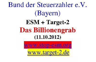 ESM und Target-2: Das Billionengrab