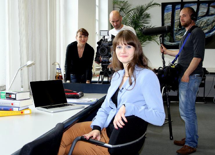 HHL-Studentin im Finale der ARD-Show 'Der klügste Deutsche 2012'