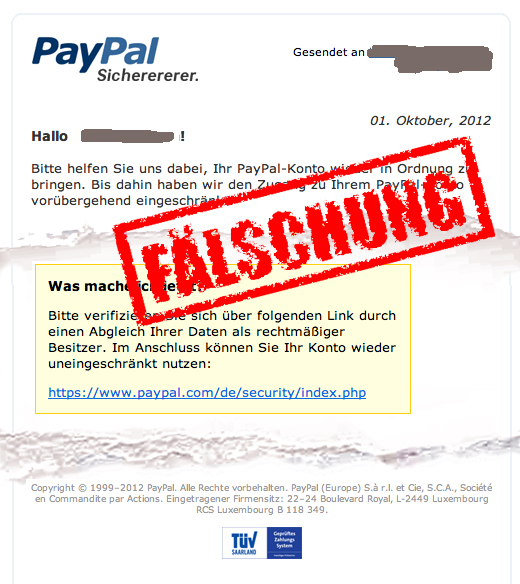 Phishing wird immer intelligenter!