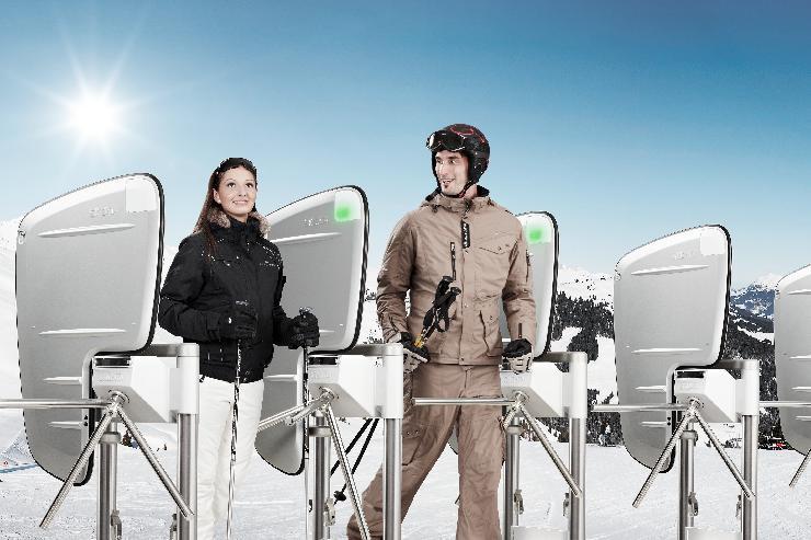 Mehr Zeit für´s Skifahren mit SKIDATA