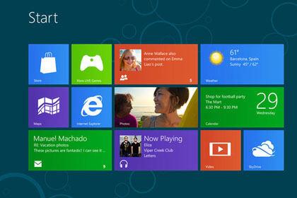 Neues Betriebssystem von Microsoft Windows 8