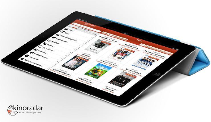 Kinoradar jetzt auch fürs iPad verfügbar