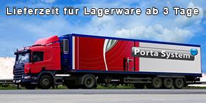 Porta System Onlineshop bietet deutschlandweit günstigste Versandkosten