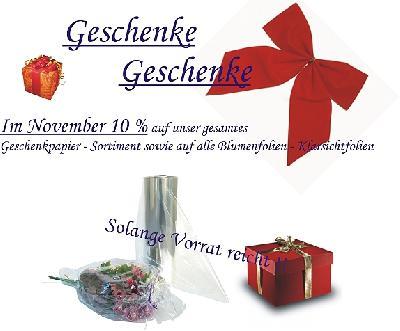 Mit Grieb Verpackungen Weihnachtsgeschenke ansprechend verpacken