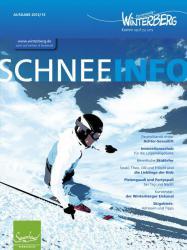 Nützlich, attraktiv, informativ: Schnee-Info als Begleiter in den Schnee