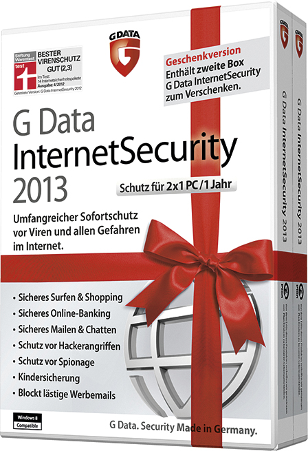 Sicherheit schenken: G Data bringt Weihnachtsspecial