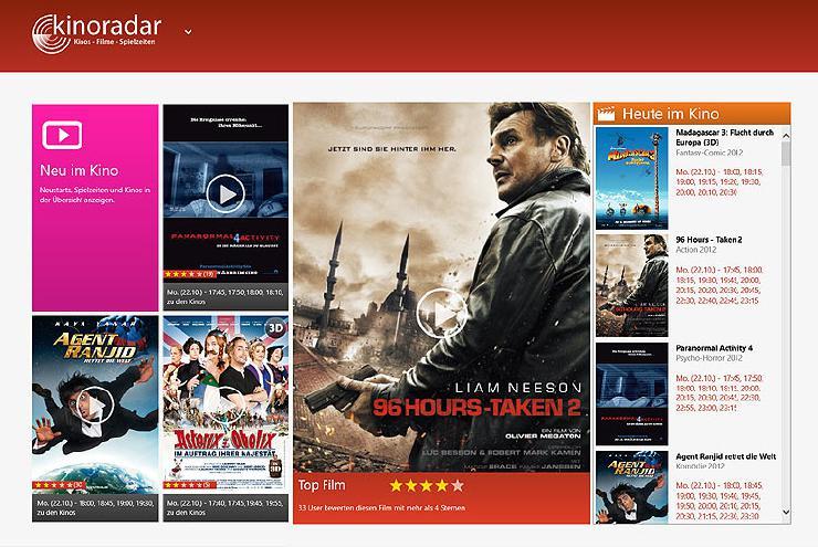 Beliebter Kinoführer