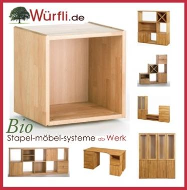 Naturmöbel aus massivem Holz