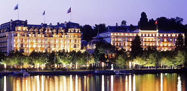 Weihnachten und der Jahreswechsel im Beau-Rivage Palace Lausanne