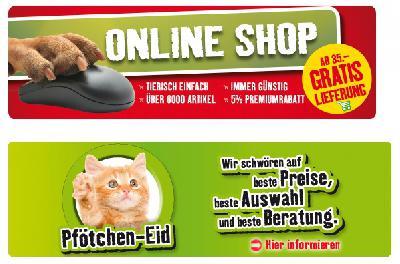Tierbedarf online bestellen
