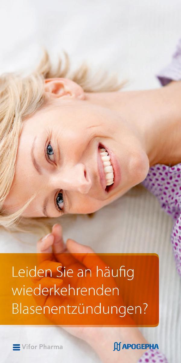 Neue Broschüre informiert über wiederkehrende Blasenentzündung