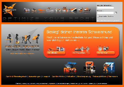 Durch den Schlamm mit sportics.net