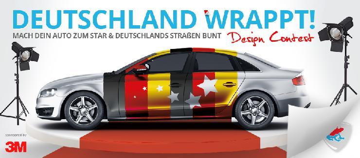 Deutschland wrappt! - Mach Dein Auto zum Star und Deutschlands Straßen bunt.