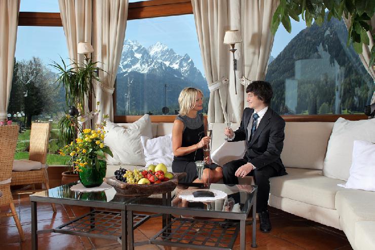 Das Alpenwellnesshotel St. Veit
