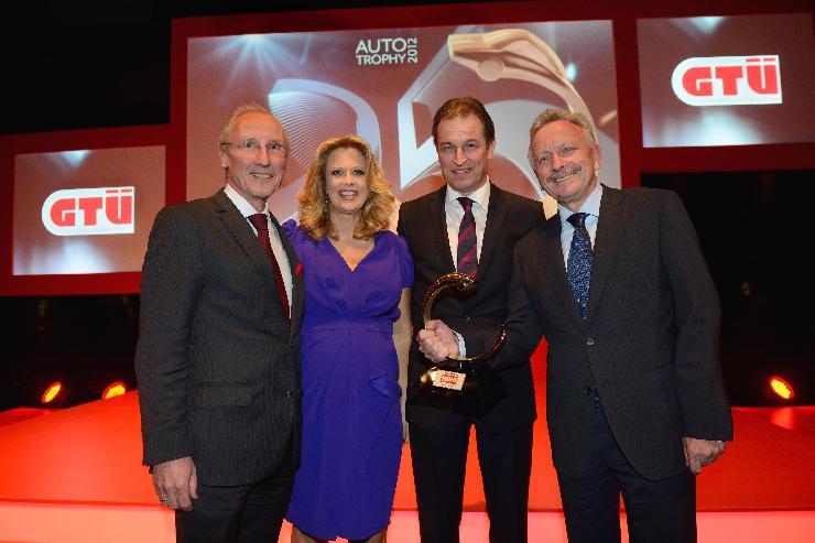 GTÜ Quality Trophy 2012 geht an Mercedes