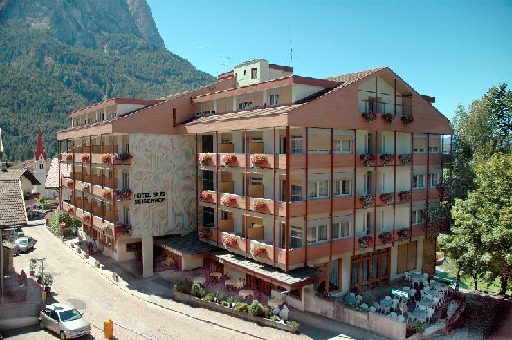 Das Hotel Seiserhof in Seis am Schlern