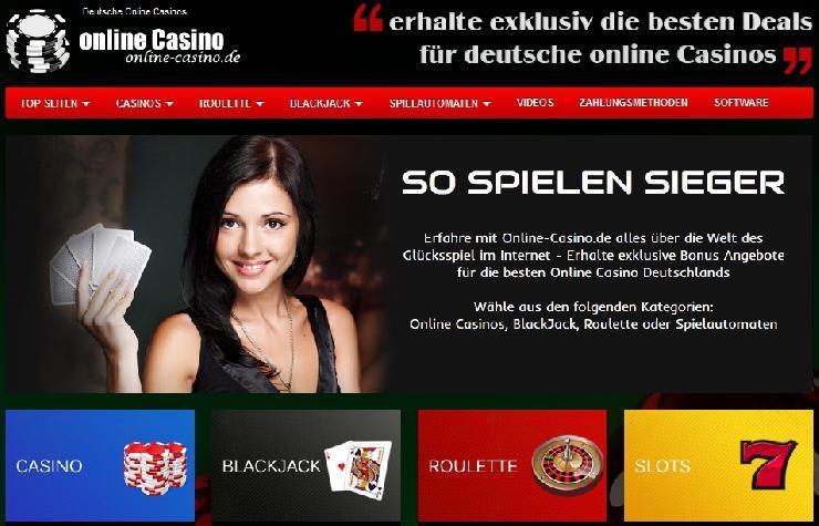 Online-Casino.de präsentiert Spielbanken im Internet