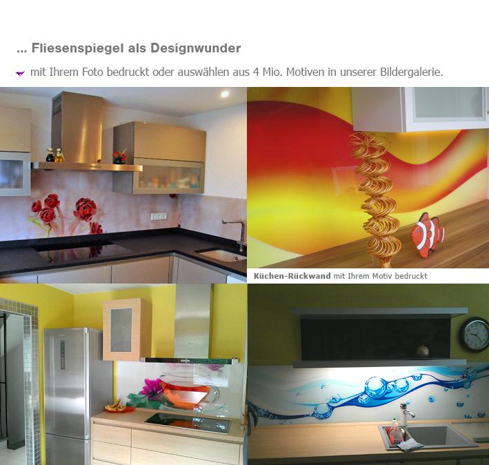 Awesome Küchenrückwand Glas Motiv Contemporary - Milbank.us ...